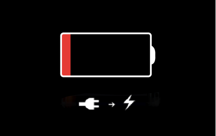 When your battery needs charging you may have a wait on your hands.